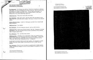 The same page from the same document.  Left was declassified by the Department of State in 1997.  Right was declassified by NARA in 2002.