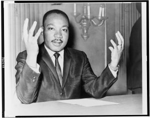 Reverend Martin Luther King, Jr.  November, 1964.