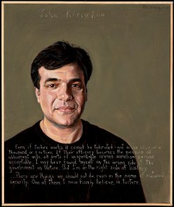 Robert Shetterly's portrait of John Kiriakou.