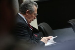 Rios Montt on trial.  Credit: JORGE DAN LOPEZ/REUTERS