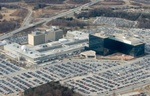 Aerial view of the National Security Agency, also headquarters for U.S. Cyber Command. Credit: National Security Agency.