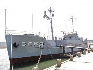 The USS Pueblo docked in Pyongyang in 2010. For good measure, here is the official North Korean news agency report on the status of the spy ship: http://www.kcna.co.jp/item/2013/201302/news21/20130221-37ee.html