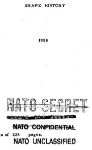 From Cosmic Top Secret to Unclassified.