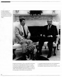 """From the CIA's Studies in Intelligence.  """"Gordievsky was the West's sole source"""""""