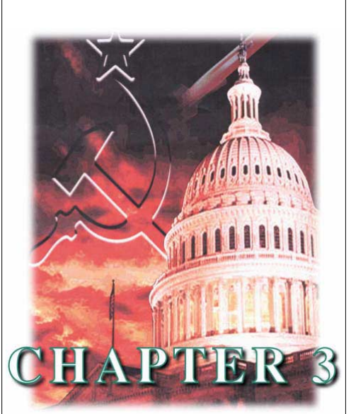 "Fears of espionage were deservedly high in the 1980s, as shown in the cover of Chapter 3 of the Third Volume of the Counterintelligence Reader, ""1980s, Decade of the Spy."""
