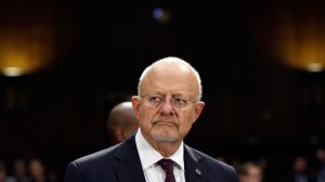 "My favorite Clapper quote explaining his reason for responding ""untruthfully"" to questions about the NSA; it was like being asked ""when he was going to stop beating his wife."""