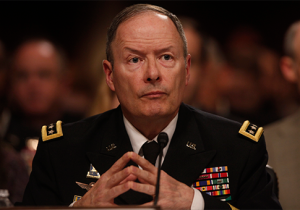NSA director Keith Alexander. AP Photo