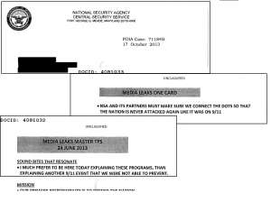 Some of NSA's talking points to justify surveillance, pried loose thanks to a FOIA request.