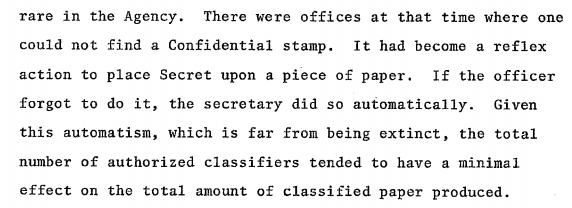 Attack of the Secret stamp.
