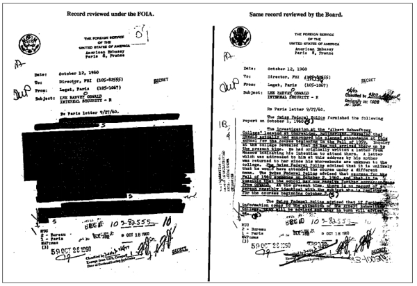 What can the Public Interest Declassification Board learn from the Assassination Records Review Board?