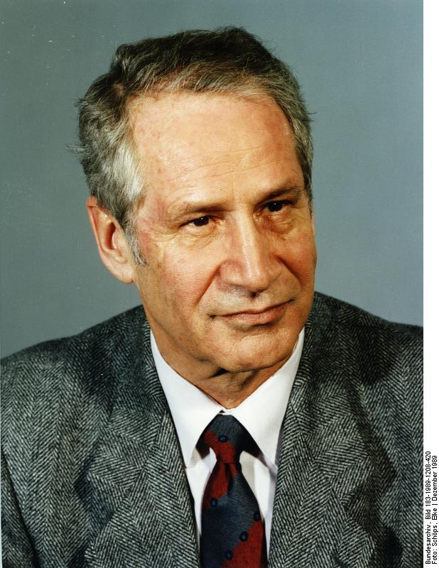 """""""The Man Without a Face,"""" Marcus Wolf, Head of Stasi foreign intelligence"""