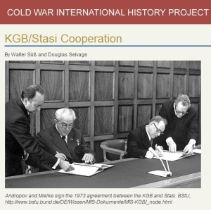 The Cold War International History Project's e-Dossier 37