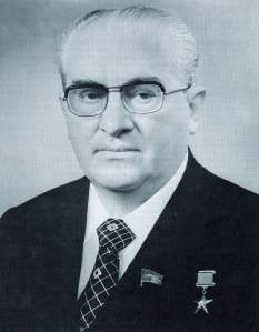 KGB Chairman and General Secretary Yuri Andropov circa 1983.