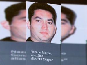 "Nazario Moreno González (""El Chayo"") was reported killed last week for a second time."