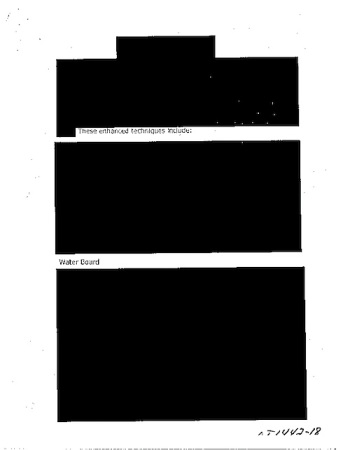 A previous CIA release on its torture practices.