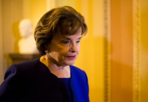 "Sen. Dianne Feinstein released emails between Snowden and NSA IG, saying they prove there was no ""smoking gun."" Snowden responded saying the emails are deliberately incomplete. Photo: Bill Clark/CQ Roll Call"