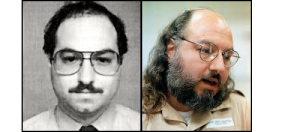 Jonathan Pollard: On the left is Pollards U.S. Naval intelligence I.D. photo, and on the right a 2012 photo of Pollard in prison.
