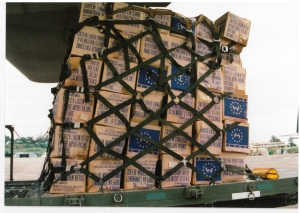 International Humanitarian Aid, Rwanda, circa September 1994. Photo from personal collection of Prudence Bushnell.