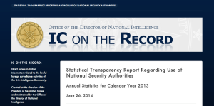DNI on the Record
