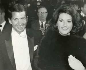 George Hamilton briefly dated LBJ's daughter, Lynda Bird. It didn't pan out, to LBJ's delight.
