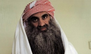 Khalid Sheikh Mohammed, waterboarded 183 times and not interviewed by Senate investigators for their CIA torture report. Photograph: AP