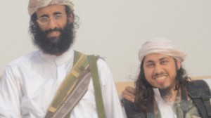 Anwar al-Awlaki (left) and editor Samir Khan (right). Photo: ABC News.