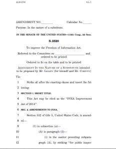 Press Managers Amendments.