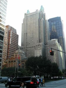 The famed Waldorf Astoria hotel, whose purchase by a Chinese investment firm will be investigated by CFIUS. WikiImage.