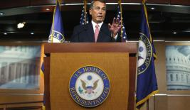 John Boehner (R-OH) thinks FOIA reform should wait until next Congress. JONATHAN ERNST/REUTERS