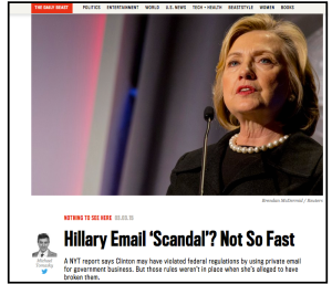 Hillary's email scandal does n't mean the State Dept. will get any better at preserving its e-mails.