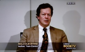 Malcolm Byrne appearing on C-SPAN2's BookTV, September 21, 2014.