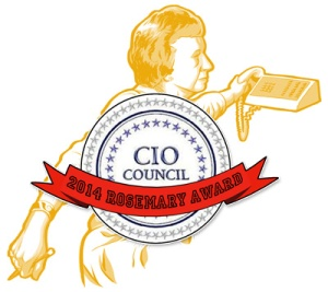 the Fed CIO Council is our latest repeat Rosemary Winner.