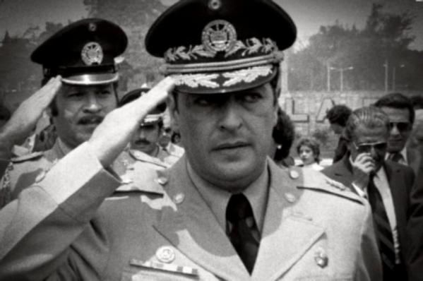 General Vides Casanova] Credit: Latin America News Dispatch.