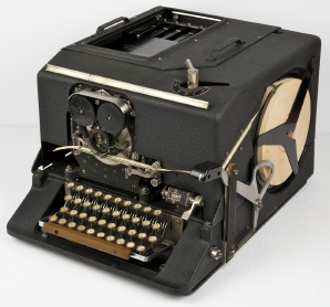 The SIGABA encryption machine built by Friedman and his staff at SIS.