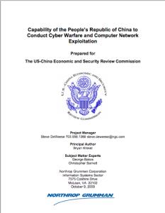 Chinese CNE Capabilities