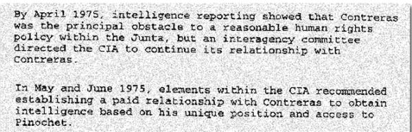 "Excerpts from ""CIA Activities in Chile,"" released by the CIA, September 19, 2000"