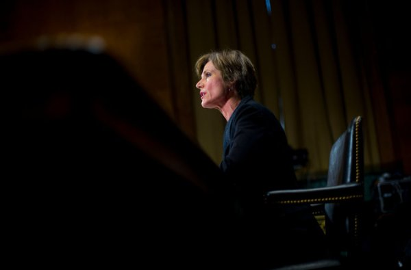 Deputy AG Sally Yates at a hearing in March. Photo Credit: Pablo Martinez Monsivais/Associated Press