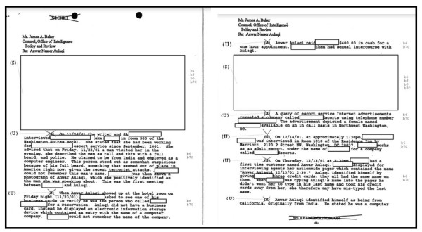 Excerpts from the 2002 memo.