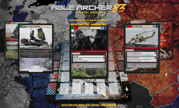 How Able is your Able Archer card game strategy? AbleArcher83.com