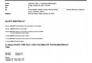 A very un-merry birthday to-do list.