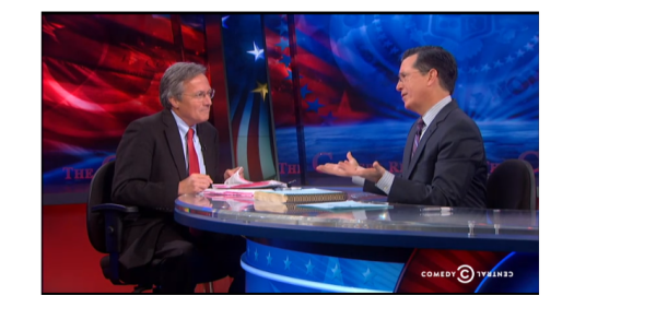 Archive director Tom Blanton was one of the Colbert Report's final guests.