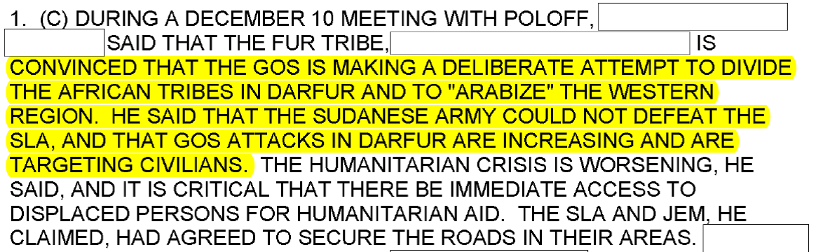 the darfur crisis essay Other papers like the darfur conflict peace keeping in dafur essay 1538 words - 7 pages the forces (military) needed to run the affairs of the organization and a successful peace keeping operation is gotten through contributions by member states.