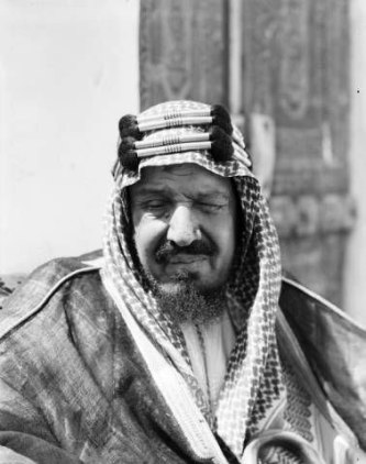 Saud bin Abdulaziz Al Saud ruled Saudi Arabia from 1953-1964. It is not known whether he was aware of the oil denial plans drawn up for the Kingdom. (Credit: DeGolyer Library, Southern Methodist University, Robert Yarnall Richie Photograph Collection.)