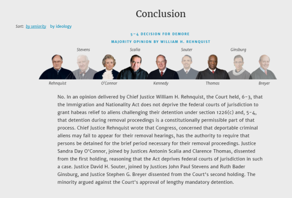 How SCOTUS ruled after DOJ provided incorrect information - from https://www.oyez.org/cases/2002/01-1491