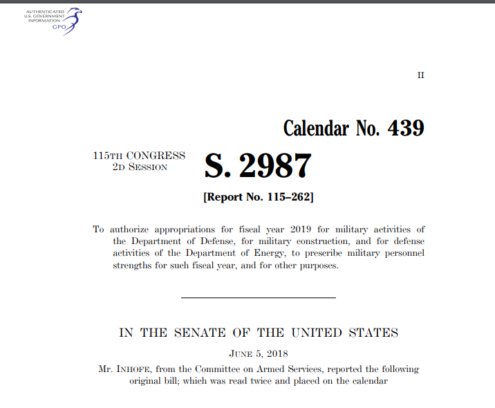 ndaa includes more unnecessary b3 exemptions